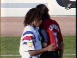 14 Франция - Испания (ЕВРО 1996 - обзор матча).